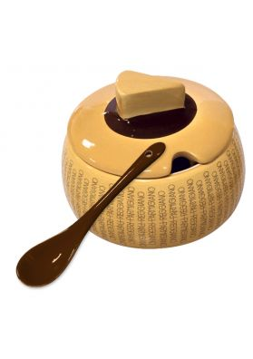 Large ceramic cheese plate